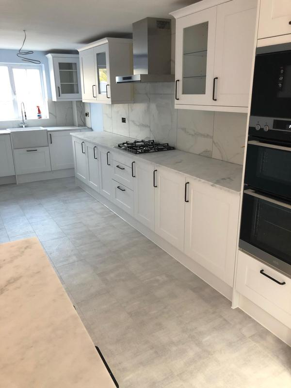 Image 49 - New floor and New kitchen Installation with Quarts worktop