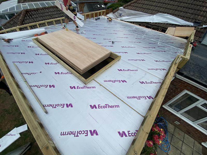 Image 7 - Warm roof