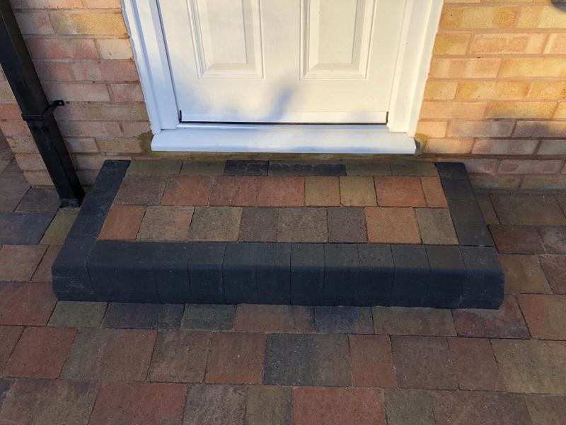 Image 170 - Block paving step Margate