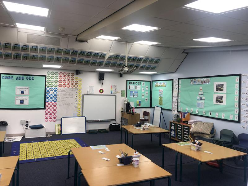 Image 62 - LED lighting to a school in Northampton