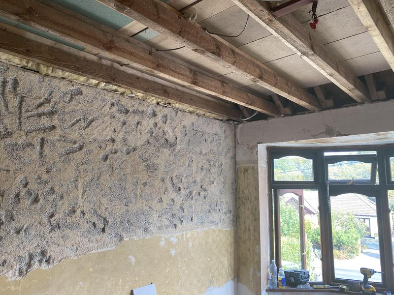 Image 22 - Before insulation and board