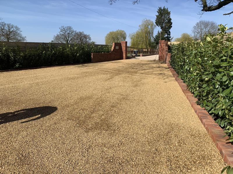 Image 6 - New driveway, walls and planting installation
