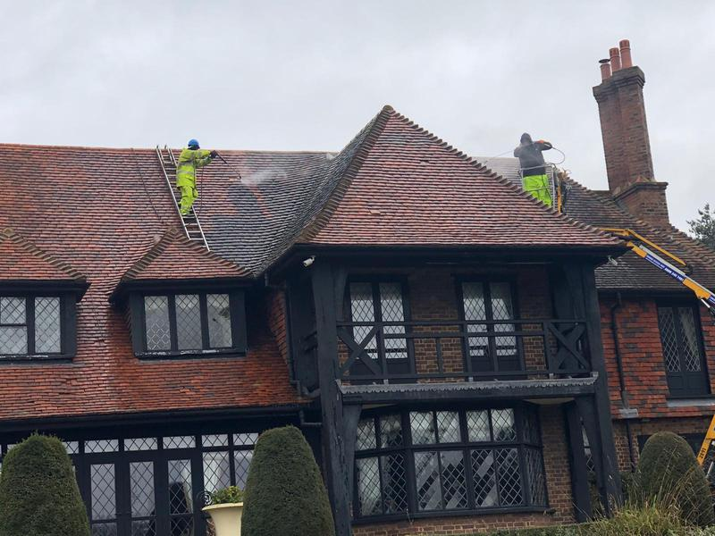 Image 20 - Professional roof cleaning