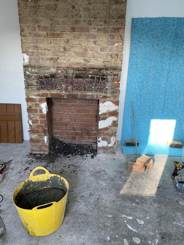 Image 49 - Chimney refurb