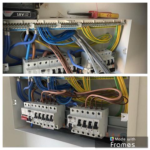 Image 2 - A brand new fuse board in progress