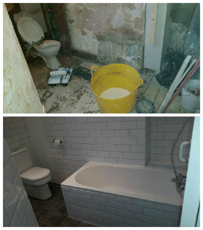 Image 25 - Full bathroom refurbishment