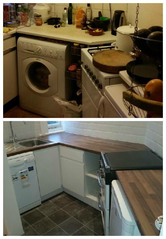Image 9 - Refurbishment of an awkward shaped small kitchen.