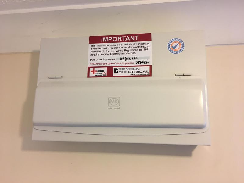 Image 12 - Replacement consumer unit. Bryden Electrical