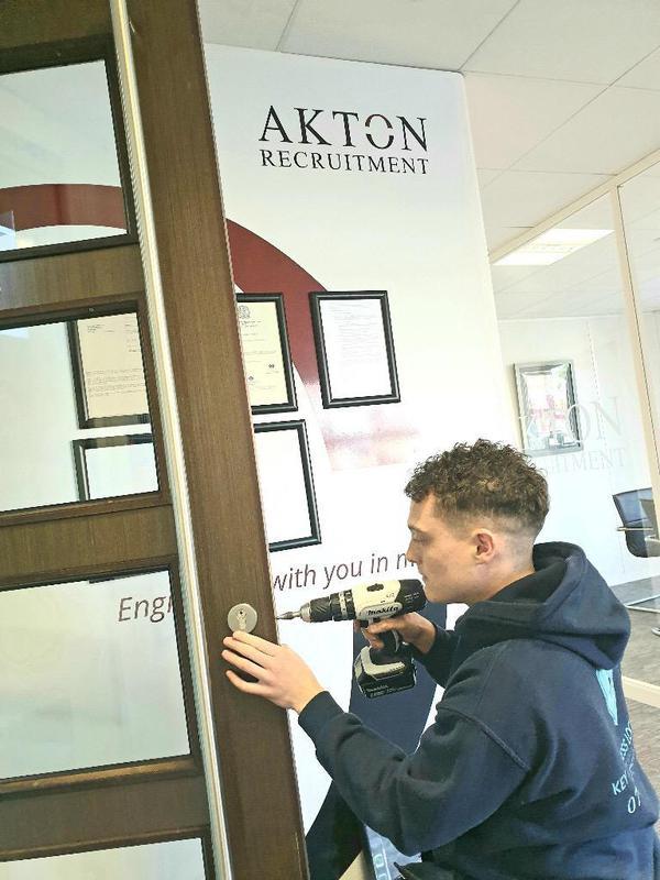 Image 25 - Lock Change in Altrincham