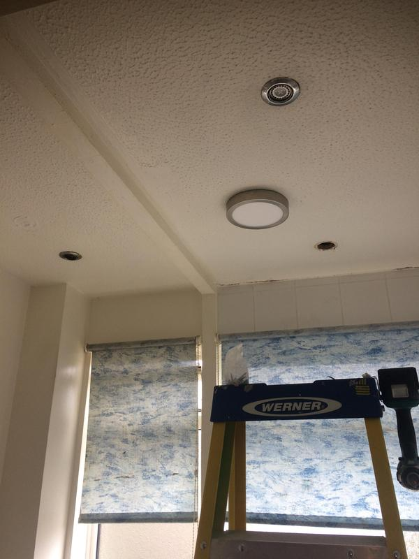 Image 16 - Faulty LEDs replaced with appropriate light in bathroom