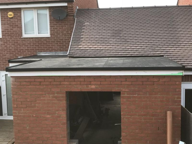 Image 45 - flat roof complete