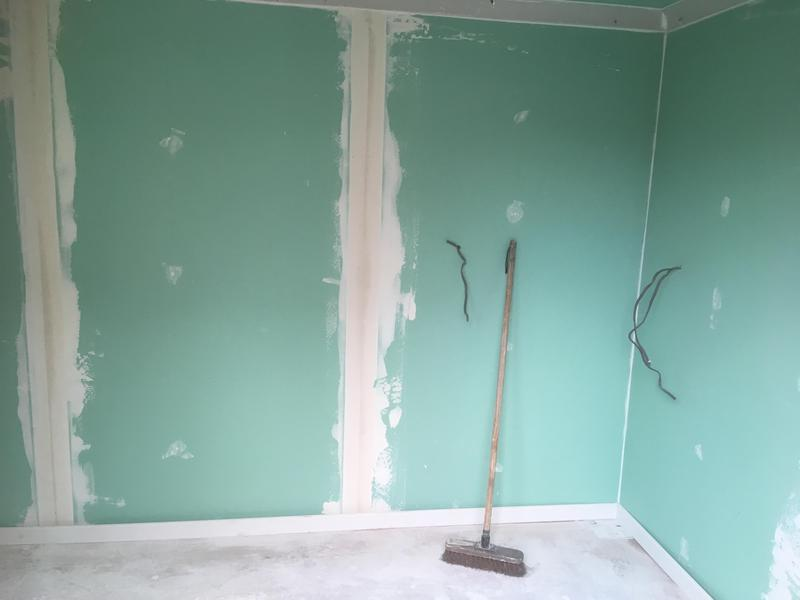 Image 5 - Internal view of garage conversion to office space