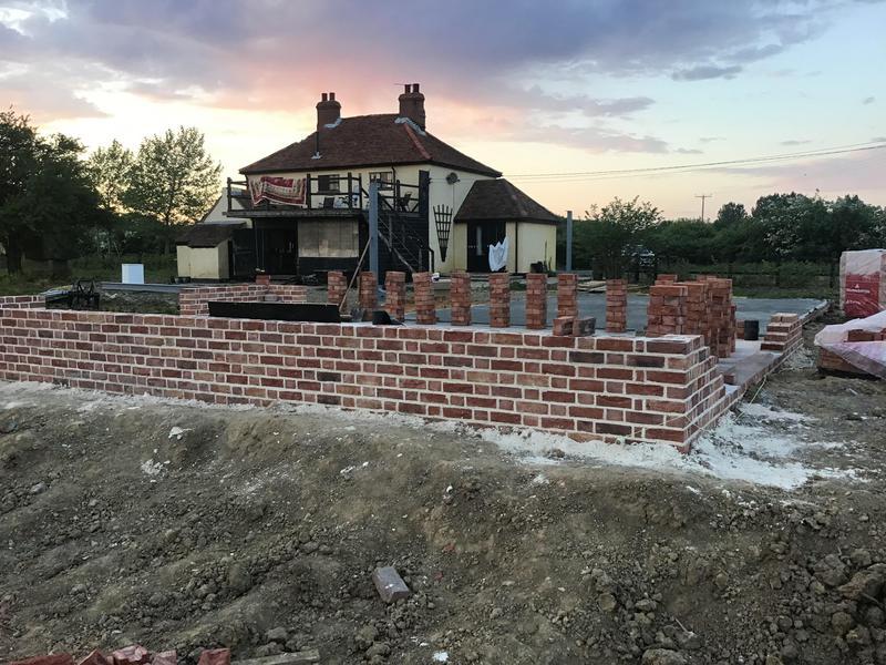 Image 18 - Brickwork for new house