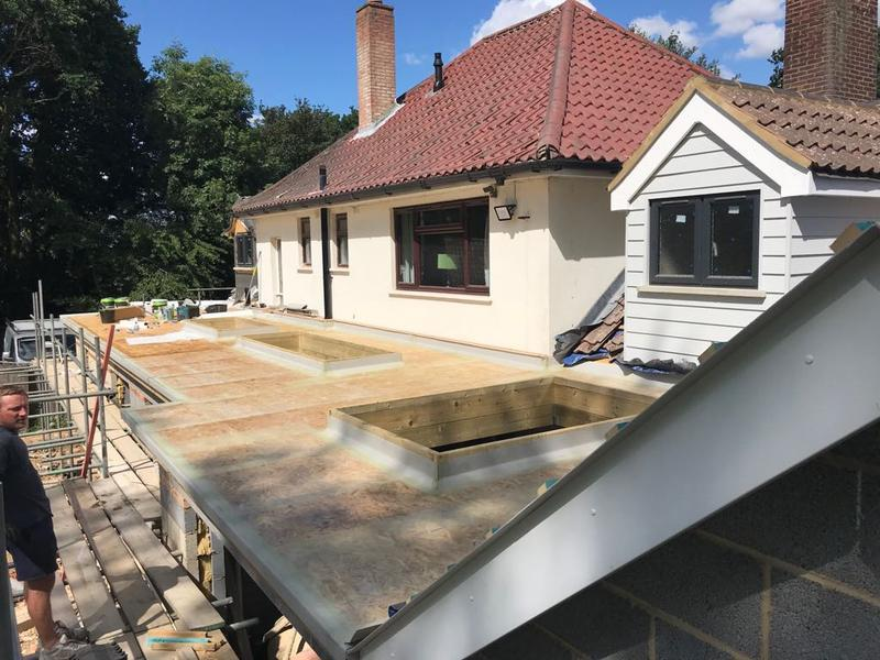Image 4 - Flat roof and dormer June 2018