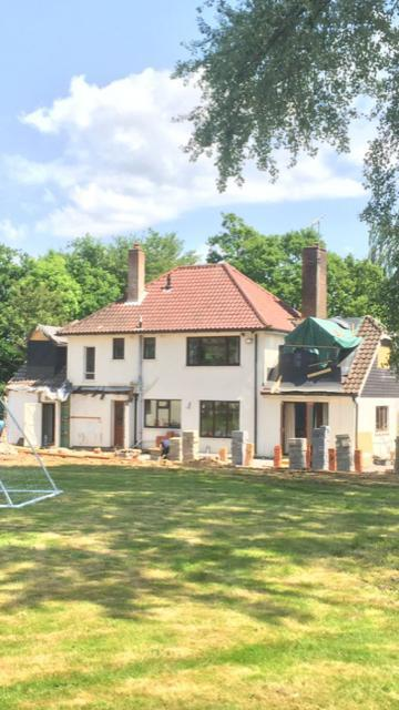Image 3 - House extension progress June 2018