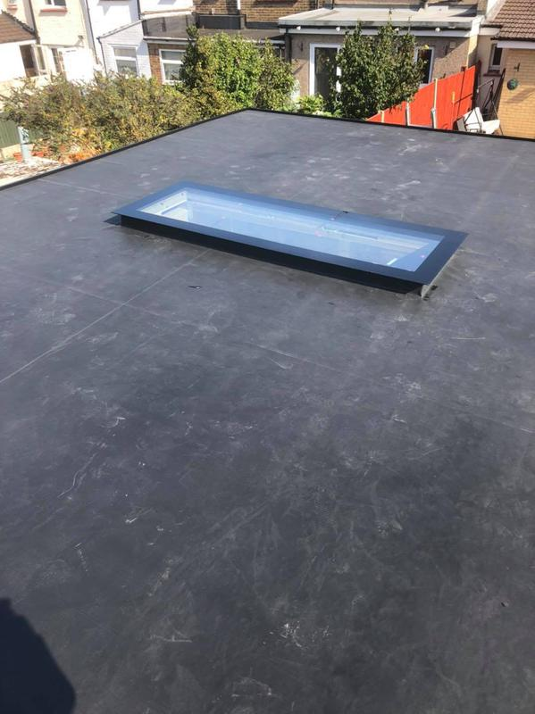 Image 16 - flat roof finished with EPDM rubber