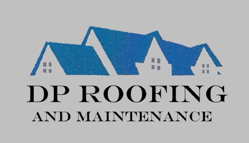 DP Roofing logo