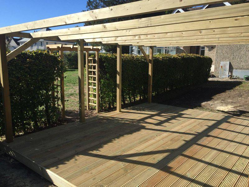Image 146 - New decking and pergola