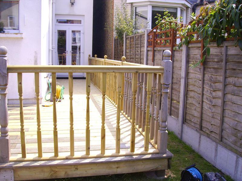 Image 19 - decking handrail