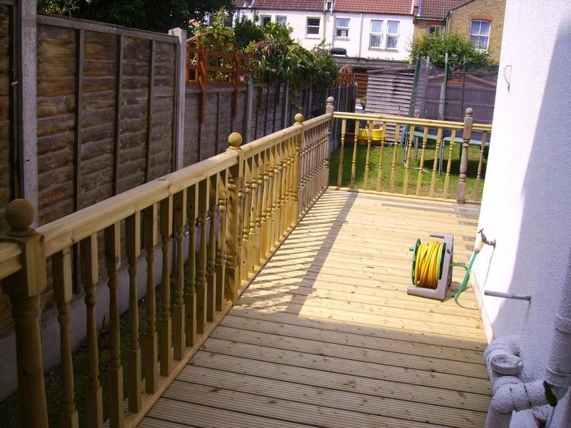 Image 11 - decking with handrail