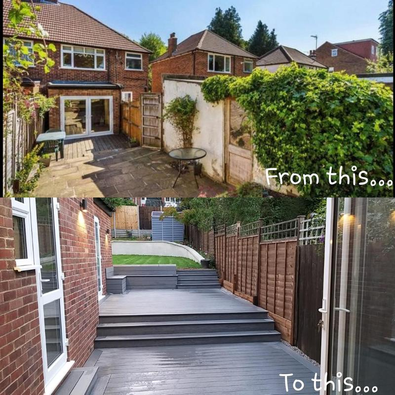 Image 13 - Composite decking install