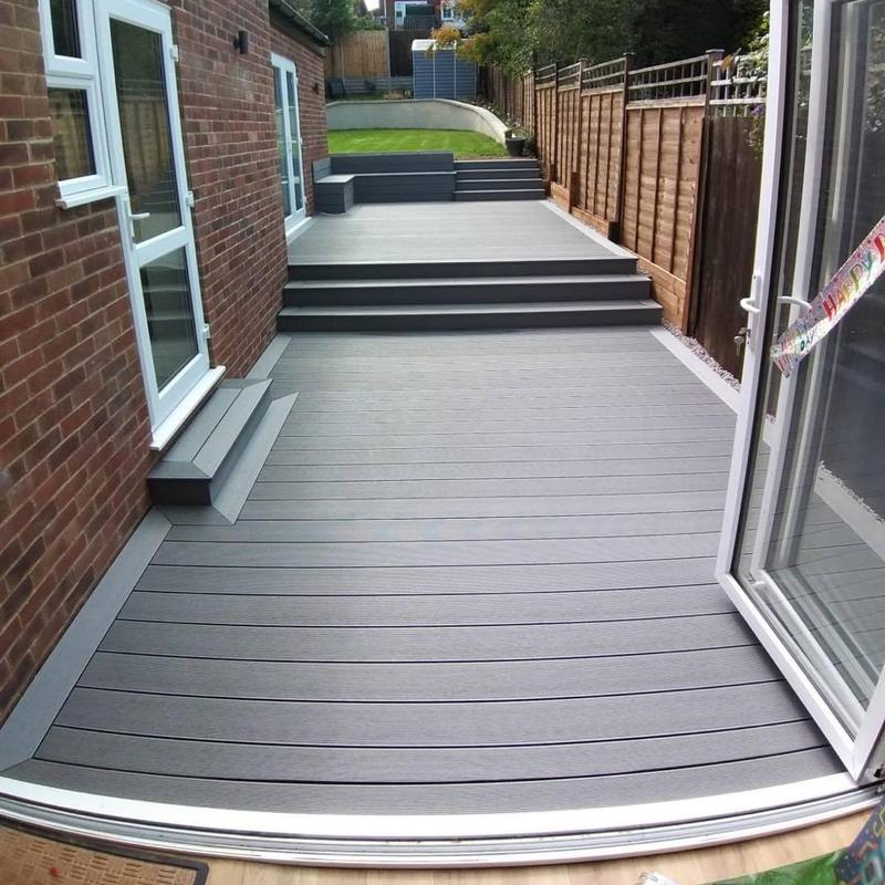 Image 14 - Composite decking install
