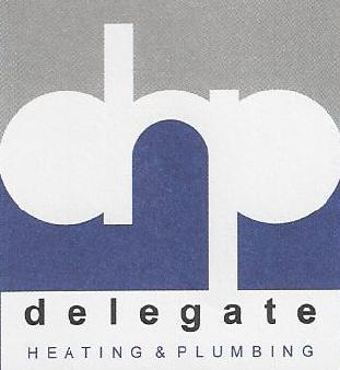 DHP (Delegate Heating & Plumbing) logo