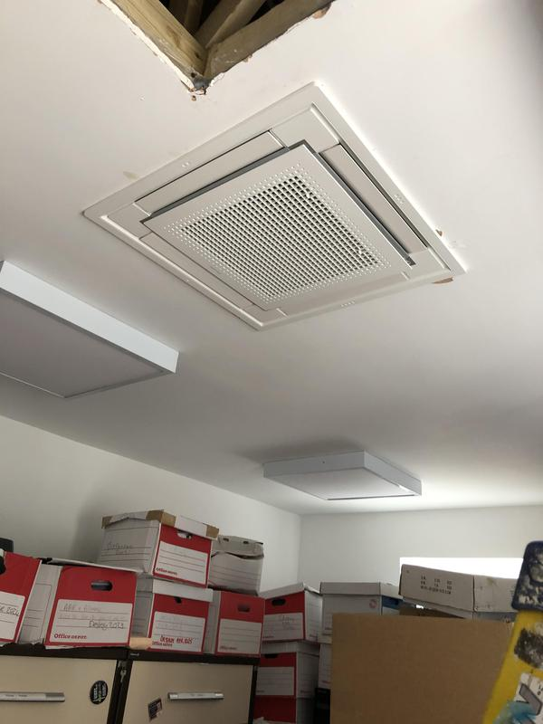Image 2 - Daikin 60 x 60 cm cassette for a NHS  doctors surgery in woodchurch Kent.
