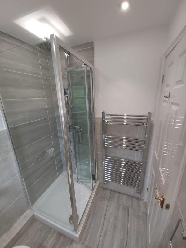 Image 2 - New shower room, new tiles, new cubicle new tray.