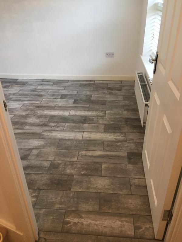 Image 6 - Dining room floor tiling Little Canfield Essex by DKM Developments Ltd builders Great Dunmow