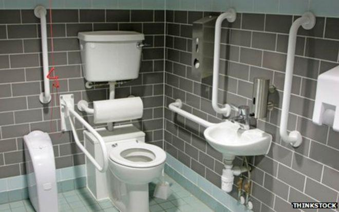 Image 174 - Disabled toilet Installation