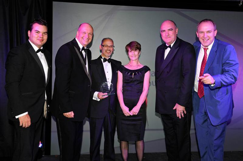 Image 152 - Winning the small Business Category at the Havering Business awards.
