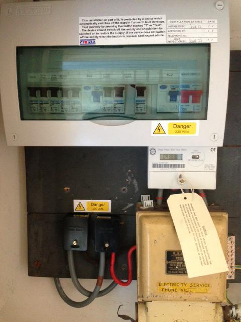 Image 1 - New fuse board change