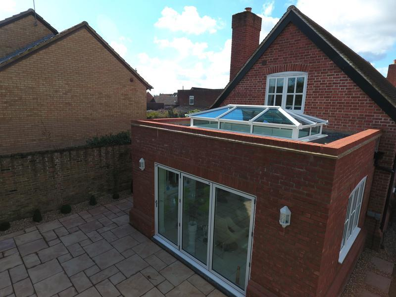 Image 1 - Roof Lantern & Triple Glazed Bi-Folding Door