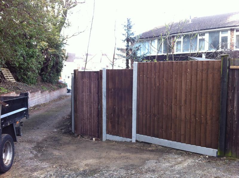 Image 6 - Fencing & Garden Gate Installation.