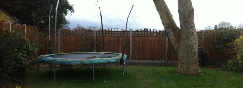 Image 5 - Fencing & Bespoke Trellis Installation.