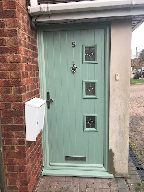 Image 60 - Chartwell Green Contemporary Composite Door