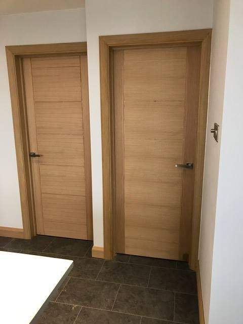 Image 53 - Newly fitted oak door casings, doors and architrave