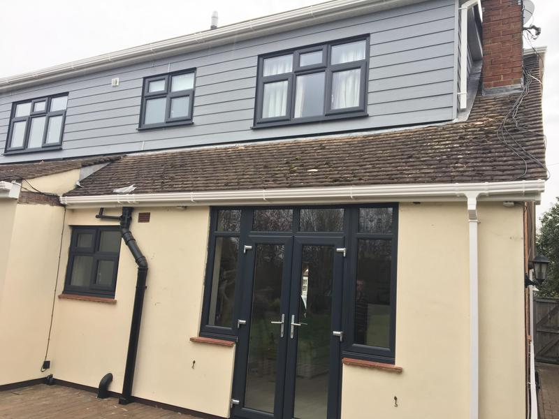 Image 27 - Double Glazed Windows & French Doors in Anthracite Grey