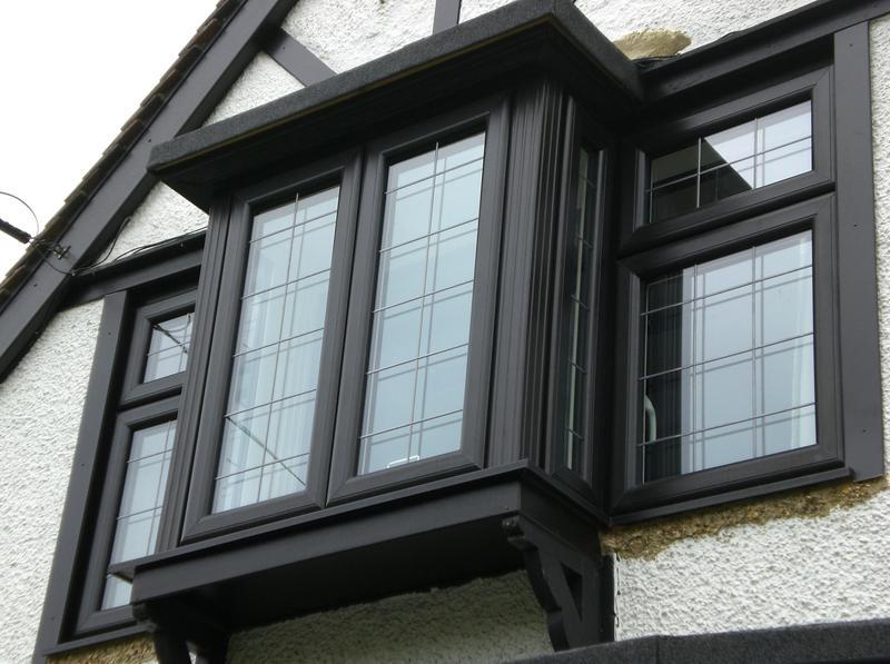 Image 26 - Black UPVC Double Glazing