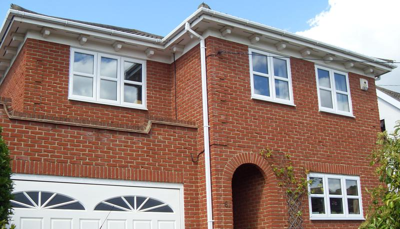 Image 30 - White UPVC Double Glazing with Horizontal Bars