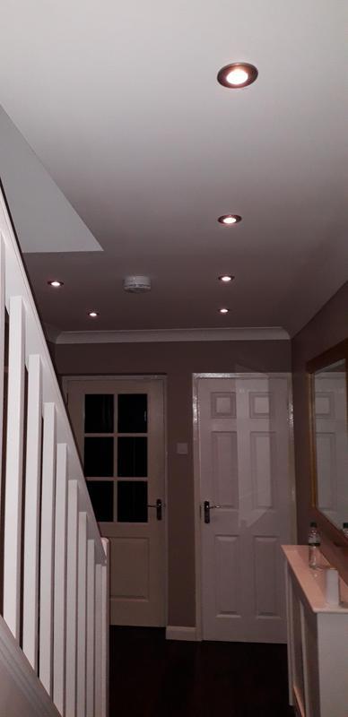 Image 4 - down-lights & smoke detector install