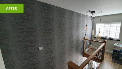 Image 2 - Papered wall
