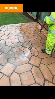 Image 42 - Patio Steam Cleaning