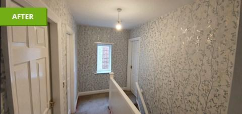Image 23 - Lining papered ceilings,emulsion ceilings, paper walls, undercoat & gloss woodwork