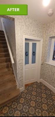 Image 24 - Lining papered ceilings,emulsion ceilings, paper walls, undercoat & gloss woodwork