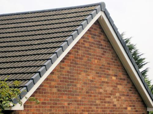 Image 19 - Dry verge system fitted to tile roof