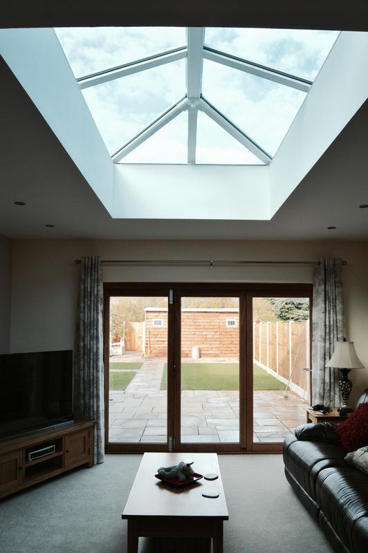 Image 32 - Roof lantern, creates a whole new dimesion