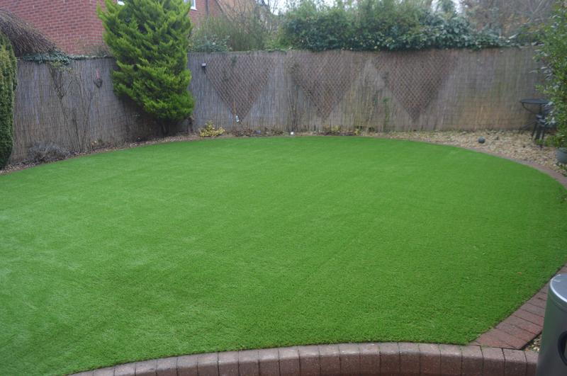 Image 8 - Artificial Grass Installation in Baldock