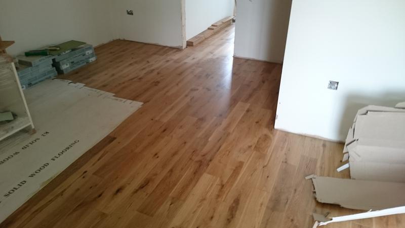 Image 5 - Solid wood flooring installation